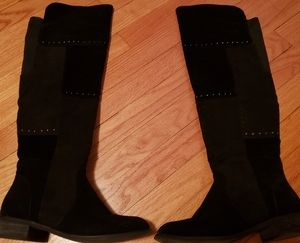 Brand new black Olivia Miller riding boots 8